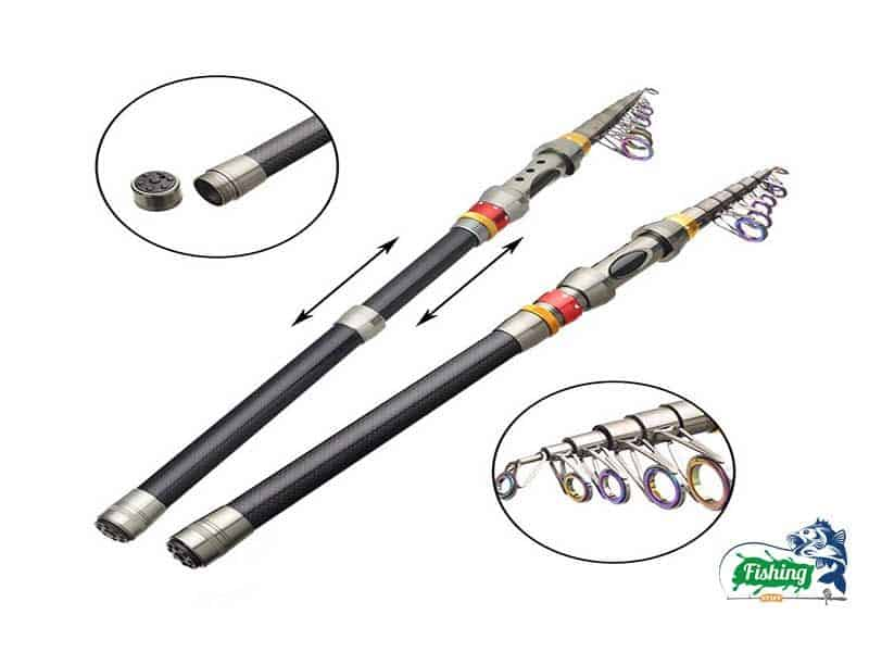 FISHINGSIR Spinning Fishing Rod and Reel Combos