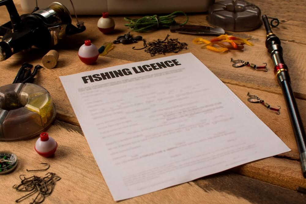 Fine for fishing without a license