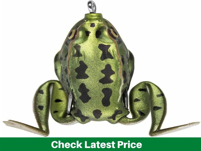 Lunkerhunt Pocket Frog Fishing Lure