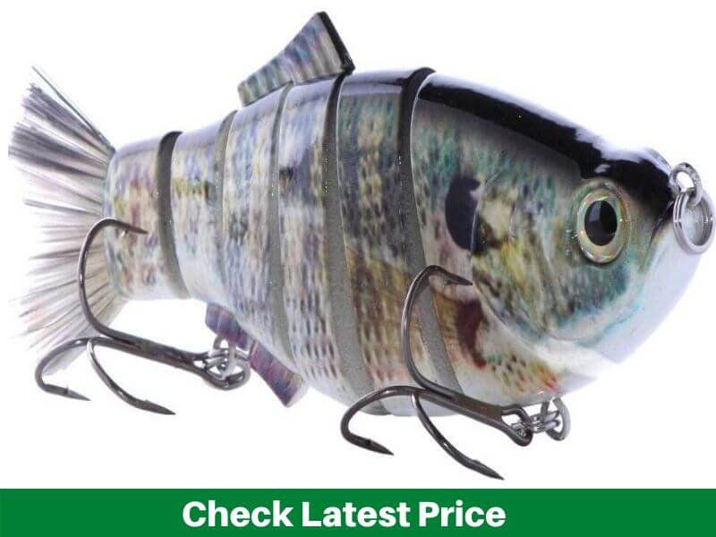 Real Fish 8 Spring Shad Multi Jointed Swimbait