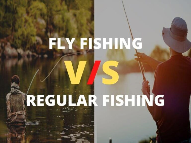 Fly Fishing vs regular fishing
