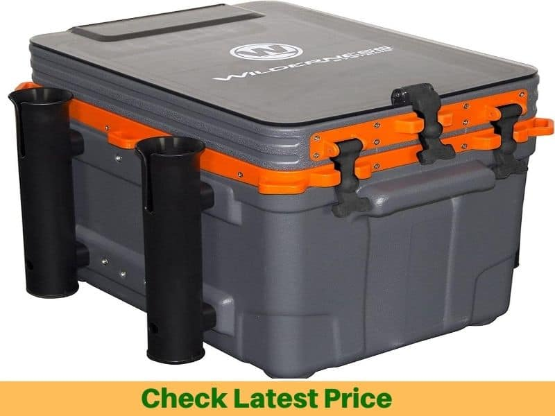 Wilderness Systems Kayak Crate with 4 Rod Holders