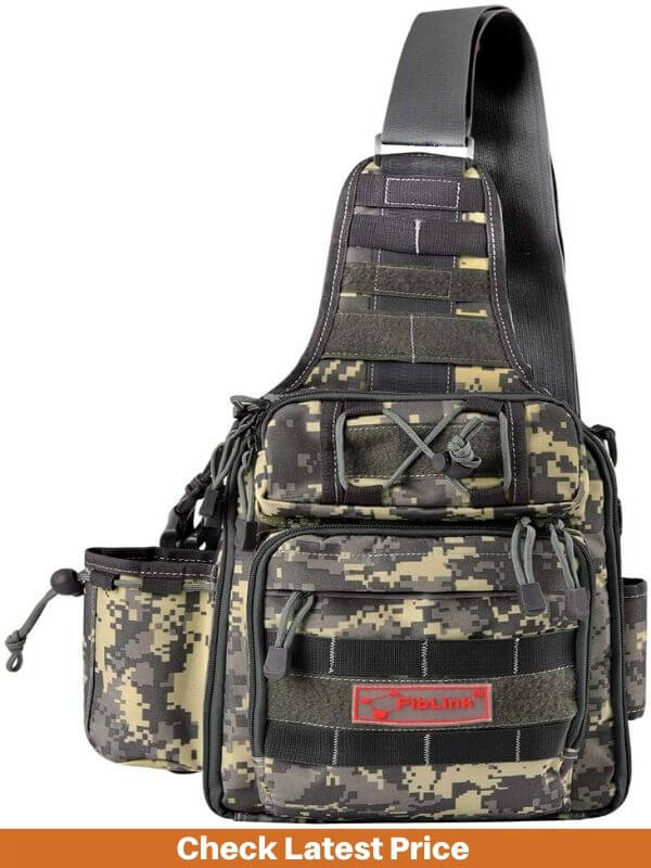 Fishing Tackle Bag Backpack with Rod Holder